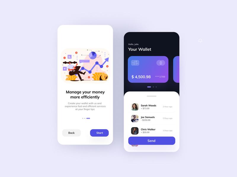 Banking app design uxdesign uidesign ux uiux ui