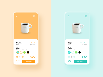 E-Commerce Shop (Single Item) app ui minimal interface user interface item page mobile ui mobile design ecommerce uiux ui ui design dailyui