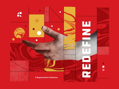 Redefine Artboard vibe hand red conference