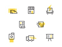 Conference Signage Icons
