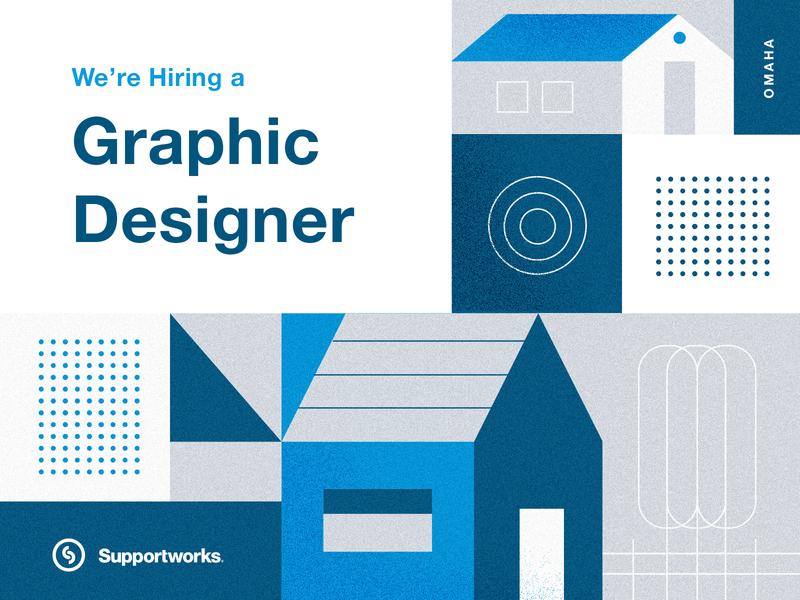 Supportworks is hiring a designer omaha graphic designer hiring jobs
