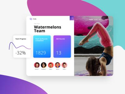 Sports Teams Management WebApp
