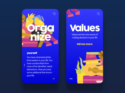 Organize yourself 💪daily ui challenge