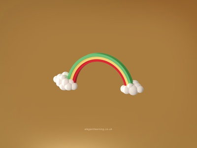 Elegant Learning icon ux ui illustration design branding graphic design 3d