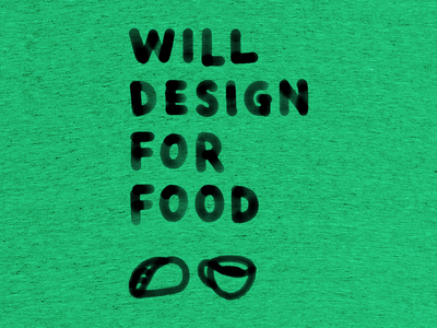 Will Design For Food food design illustration handlettering t-shirt