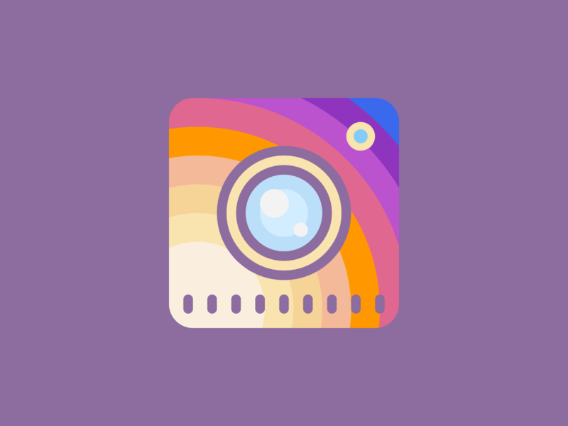 Instagram Logo (Second Variation) instagram banner instagram post instagram flat web ui design uidesign ui  ux uiux ui red typography illustration icon vector ux logo branding app design