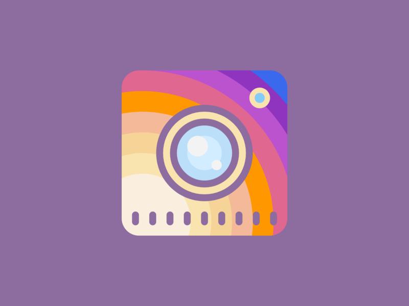 Instagram Logo (Second Variation) instagram banner instagram post instagram flat web ui design uidesign ui  ux uiux ui red typography illustration icon vector ux logo branding app design