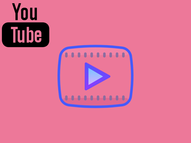 YouTube Logo uidesign uiux youtube channel youtube banner youtube logo youtuber youtube flat web ui red typography illustration icon vector ux logo branding app design