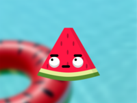 Looking at the Internet - Bored Watermelon Design food white green redesign bored watermelon bored watermelon flat web ui red typography illustration icon vector ux logo branding app design