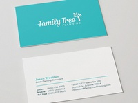 Family Tree Planning Cards