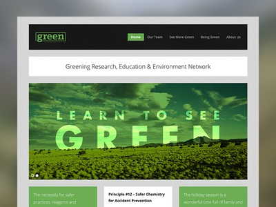 Greening Research Website