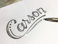 Carson Lettering