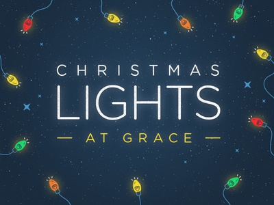 Christmas Lights at Grace 2017 lights grace christmas