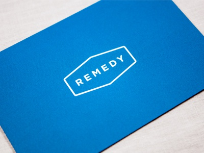 Remedy / Luxe Cards remedy logo cards luxe