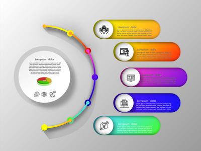 infography design illustration