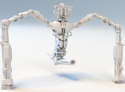 Seeker hunter creature design 3d artist maya arnoldrender caracter design zbrush