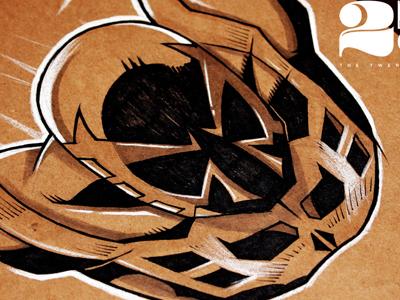 Dribbble spiderman 2099  salvatier