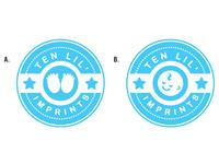 Ten Lil' Imprints Logo