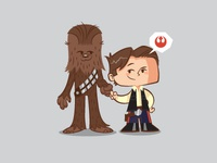 Lil BFFs - Han & Chewy