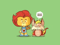 Lil BFFs - Lion-O & Snarf
