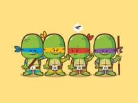 Lil Bffs - Teenage Mutant Ninja Turtles
