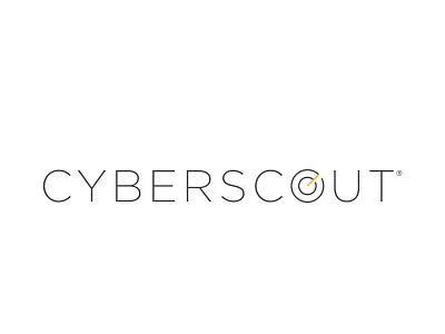 CYBERSCOUT Logo (REDESIGN) icon typography logo design vector brand identity branding logo design