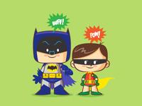 Lil BFFs - 66' Batman And Robin