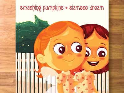 Smashing Pumpkins Siamese Dream smashing pumpkins illustration digital paint siamese dream