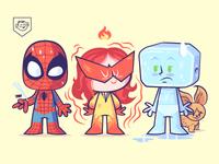 Lil BFFs - Spider-man and his Amazing Friends