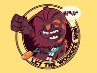 Let The Wookiee Win t-shirt