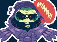 MYAAAAH! sticker