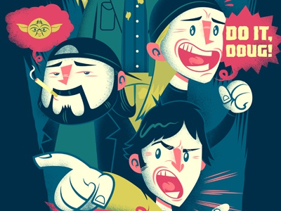 It's Mall or Nothing illustration gallery 1988 kevin smith mallrats