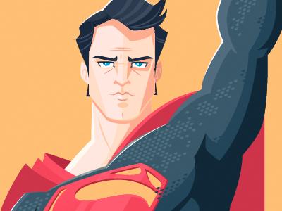 Superman By Dennis Salvatier Dribbble