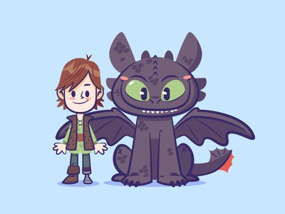 Lil BFFs : Hiccup and Toothless