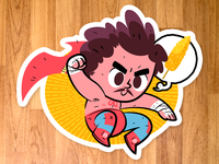 Nacho Libre sticker