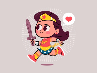 Wonder Woman Day character design dc comics illustration wonder woman
