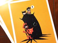 Bat-Family Matters print