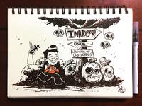 Inktober Day 1-3
