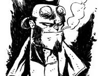 Hellboy (inktober)