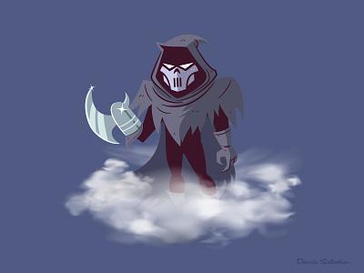 The Phantasm illustration character design batman animated batman btas phantasm