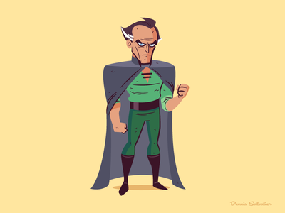 Ra's Al Ghul dccomics vector illustration character design ras al ghul batman batman the animated series