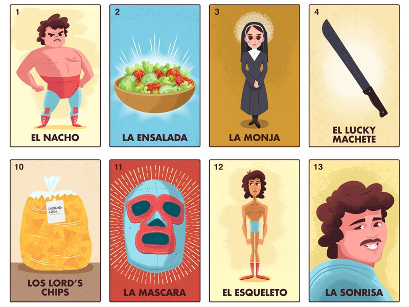 Dribbble nacho libre salvatier