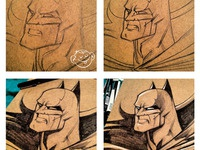 How I Draw Batman