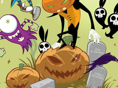 Salvatier dribbble halloween
