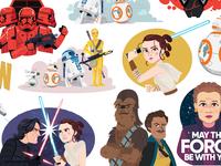 Rise of Skywalker Digital Stickers