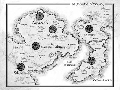 Issar monde issar carte dessin map atlas