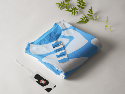 Chill Cow T-shirt shirt mockup chill cow chill out shirt minimal design