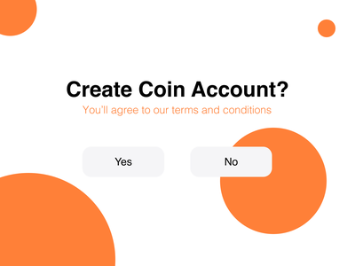 Coin Account Confirmation account challenge ui daily 54 dailyui dailyui 054 confirmation count grid