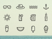 Beach And Summer Icons