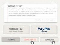 Classic Wedding Website